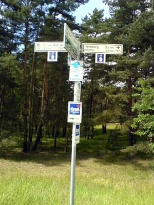 Radwanderwege um Havelberg - Elberadweg, Havelradweg, Bischofstour