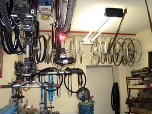 Reparatur und Service in der Fahrrad-Fachwerksatt