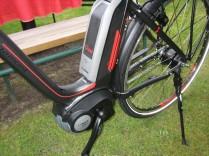 Mittelmotor von Bosch am Rad *
