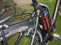 E-Rad, ausgestattet mit guter Bremstechnik (modellabhängig)