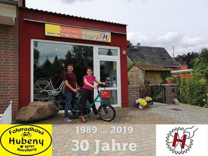 30 Jahre Fahrradhaus Hubeny Havelberg
